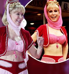 Barbara Eden back in her iconic costume at 78