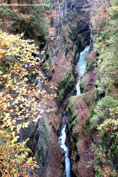 partnachklamm- view from above.  Hiking in Germany!
