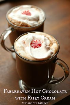 Deliciously rich hot chocolate is the perfect homemade winter drink. My mom made hot chocolate with me when I was a little girl and it made the best memories. Take some time this winter and make some from scratch - you won't regret it. And...if your kids