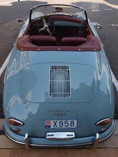 Porsche 356 A Convertible Vintage Sports Cars, Retro Cars, Vintage Cars, Antique Cars, Bmw Z3, Porsche 356 Speedster, Pt Cruiser, Vintage Porsche, Cabriolet