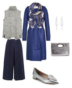 """""""In cold colors"""" by nataliya-mostriansky on Polyvore featuring Zeus+Dione, Harris Wharf London, Lauren Ralph Lauren, Fat Face, Miu Miu, Donald J Pliner and Diane Kordas"""