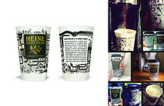 strADegy Advertising // Heine Bros' To Go Cup	// Heine Brothers' Coffee // Creative Director, Nathan Weaver