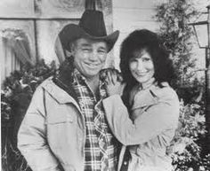 Loretta Lynn and her husband Doolittle. They married when she was 13. They were married 47 years before he died.
