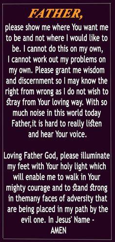 Prayer Times, Prayer Scriptures, Bible Prayers, Catholic Prayers, Faith Prayer, God Prayer, Power Of Prayer, Prayer Quotes, Faith Quotes