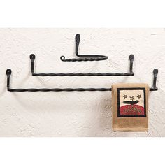 Check out the deal on Twisted Iron Wall Toilet Tissue Holder at Irvin's Tinware Primitive Bathrooms, Iron Wall, Home Hardware, Tissue Holders, Wrought Iron, Bathroom Lighting, Toilet, Make It Yourself, Accessories