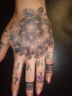 ... 25 Flower of Life Tattoo Designs (8) ...