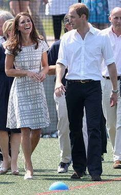Kate Middleton, Prince William and Prince Harry Catch Olympic Fever