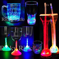 Led #light-up drink #glasses #flashing acrylic blinking cola beer glass barware,  View more on the LINK: 	http://www.zeppy.io/product/gb/2/141065413307/
