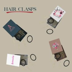Leo Sims - Hair clasp box for The Sims 4