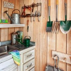 What would you want most in a potting shed?   Photo: Mark Lohman.   thisoldhouse.com