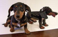 Dachshund Sculpture - a set on Flickr