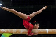 Gymnasts work sooooo hard for a moment like this when all you have to do is believe , Hernandez USA