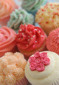 Cupcakes que dá pena de comer!