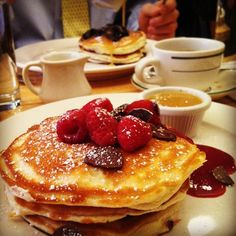 """Famous for their gourmet pancakes! 