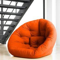 Orange Chair #DashandAlbert10Year