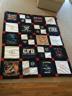 Fireman Tshirt quilt for boyfriend gift Source by Fireman Quilt, Firefighter Boyfriend, T-shirt Quilts, Fire Crafts, Yuka, Firefighter Decor, Romantic Gifts For Her, Forget, Fire Department