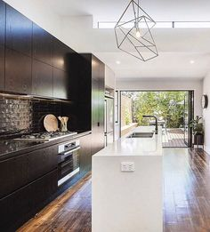 """This captivating solid-brick Edwardian located in #Armadale has hit the market. Featuring soaring high ceilings, timber fretwork and dark original timber floors; it's a three-bedroom property that truly packs a punch. """"We bought this house as a young couple,"""" says the owner. """"We've shared so many beautiful memories under this roof, from our engagement to the birth of our son. I've always been passionate about interior design, so renovating was a like a dream come true. One of my favourite…"""