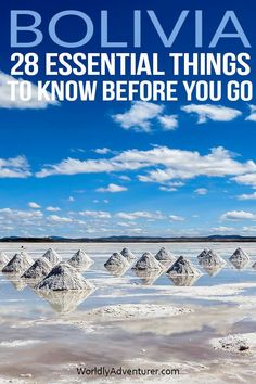 Get advice on public transport, packing suggestions and invaluable tips on staying safe with this comprehensive guide to things to know before traveling in Bolivia, written by a local expert. Ways To Travel, Best Places To Travel, Places To See, Expedia Travel, Travel Destinations, Free Vacations, South America Travel, Travel Alone, Things To Know