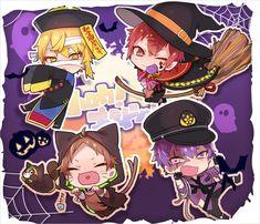 埋め込み Anime Chibi, Kawaii Anime, Anime Art, Anime Halloween, Vocaloid, Fanart, Another Anime, Ensemble Stars, I Love Anime