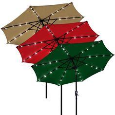10ft Aluminum Outdoor Market Yard Beach Sun Patio Umbrella With Crank Tilt TB   eBay