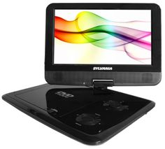 Sylvania SDVD9000B2 9-Inch Portable DVD Player with Car Bag/Kit, Swivel Screen, USB/SD Card Reader, Piano Black Finish Curtis,http://www.amazon.com/dp/B004QGXWSQ/ref=cm_sw_r_pi_dp_l0cFsb1HSWV78X11