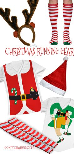 Running Christmas gear. Running a jingle jog? Check out our holiday running gear!