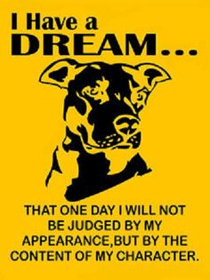 It's not the breed, it's the humans that own them!! Please Believe!