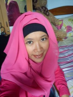It's pink time hijab :)