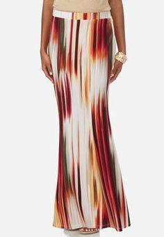 104cab4bd0c Cato Fashions Brushstroke Striped Mermaid Maxi Skirt-Plus  CatoFashions  Cato Fashion Plus Size