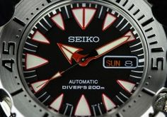 """Seiko SRP313K1 """"New Monster"""" Dive Watch Review Wrist Time Reviews"""