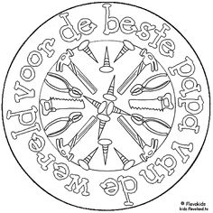 For the best Dad of the World (in Dutch) papa-mandala. Ariel Coloring Pages, Frozen Coloring Pages, Pumpkin Coloring Pages, Spring Coloring Pages, Princess Coloring Pages, Coloring Pages For Boys, Alphabet Coloring Pages, Mandala Coloring Pages, Christmas Coloring Pages