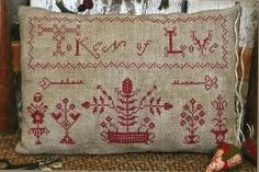 antique cross stitch samplers - Google Search