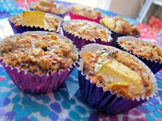 Granola Apple Cinnamon Muffins