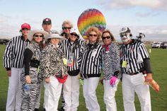 Zebra Zone- These stripes are worn proudly as the official launch directors at the Albuquerque International Balloon Fiesta.