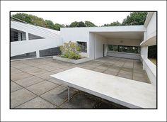 Villa Savoye, Poissy. By Le Corbusier. September 2009. by adaptorplug, via Flickr