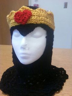 Evil Queen Coif by FGMCollective on Etsy, $45.00