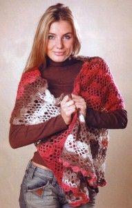Вязание шали и платков крючком - подборки, модели, фото – Страница 2 из 5 : Kruchcom.ru Crochet Scarves, Crochet Shawl, Scarf Hat, Irish Lace, Irish Crochet, Needlework, Crochet Patterns, Embroidery, Knitting
