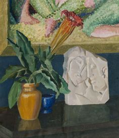 Still Life, 1931, Robert Nettleton Field, (b.1899, d.1987), purchased with a contribution by Friends of Hawke's Bay Cultural Trust, collection of Hawke's Bay Museums Trust, Ruawharo Tā-ū-rangi, 2009/158, reproduced with kind permission from the artist's family Napier New Zealand, New Zealand Art, Museum Collection, Mtg, Exhibit, Museums, Still Life, Trust, Artists