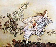 Arthur Rackham (Peer Gynt by <b>Henrik Ibsen</b>) | Arthur Rackham в ...