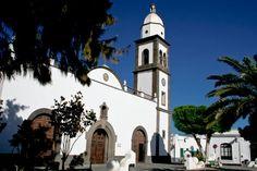 Parroquia de #SanGinés, en pleno casco histórico de Arrecife de #Lanzarote…