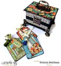 Artisan Style Altered ATC Box - Nichola Battilana
