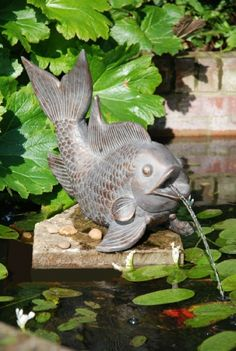 Fish Garden Water Feature
