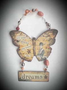 Wanna know where you can get one of these filthy gorgeous #vintage #shabby #chic #butterflies ? Go on...have a guess... http://evpo.st/1G4a25x