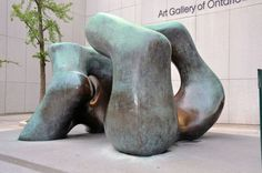"""""""Large Two Forms"""" (1966 & 1969), Henry Moore Toronto's diversity is reflected in the wide array of public art, especially sculpture, that can be seen on block after block in i…"""