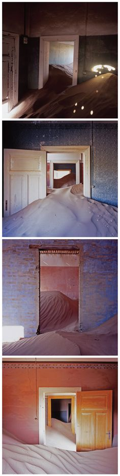 Kolmanskop in the Namib Desert. Mark Daniel, 2008.