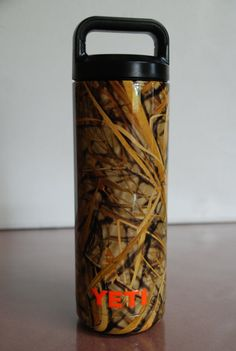 Hydro Dipped Muddy Girl Tumbler With Straw Hydrographics