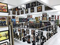 Located in Victoria Island.  Nike Art Gallery  Nike Art Gallery is the biggest of its kind in West Africa, with four floors and an exceptional collection of artworks from different parts of the continent.