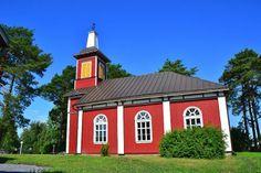 Björköby church, Mustasaari Finland.