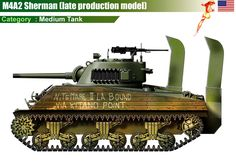 M4A2 Sherman (late production model)