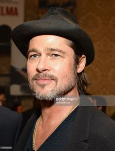 Actor Brad Pitt attends the 15th Annual AFI Awards Luncheon at Four Seasons Hotel Los Angeles at Beverly Hills on (January 9, 2015) in Beverly Hills, California.
